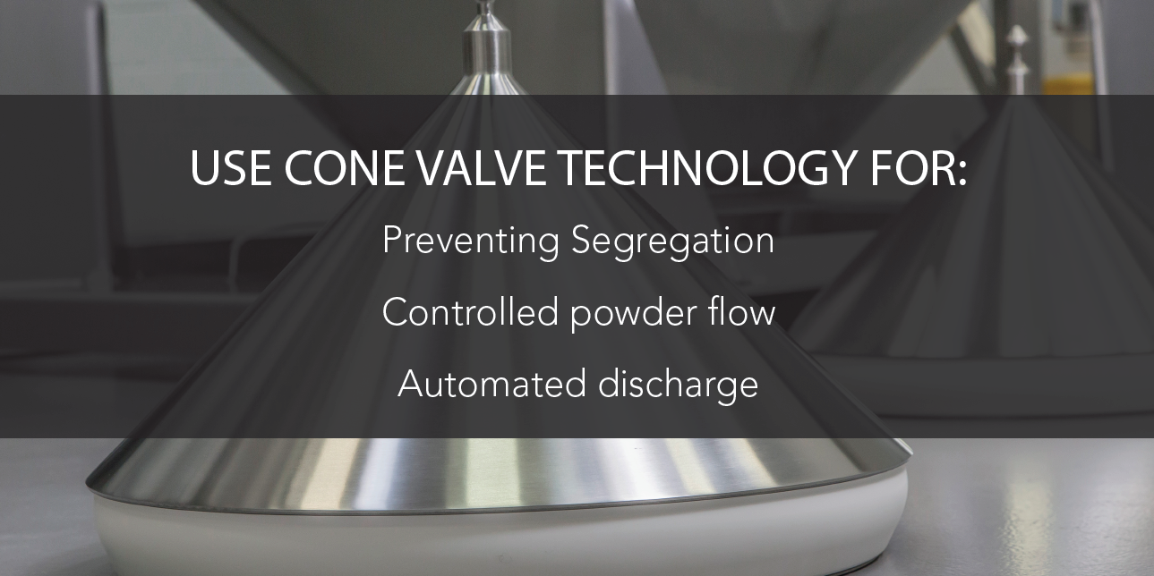 Prevent Powder Segregation with the Cone Valve