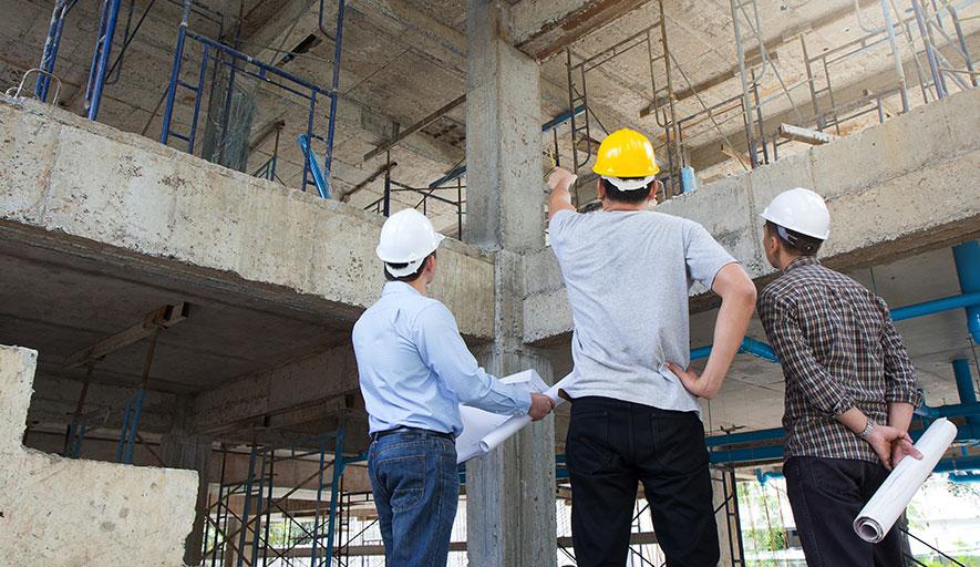 Building design of pharmaceutical manufacturing plant