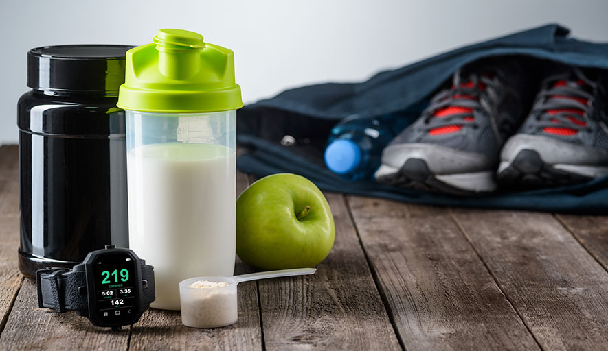 Items to prepare for sport in sports nutrition manufacturing
