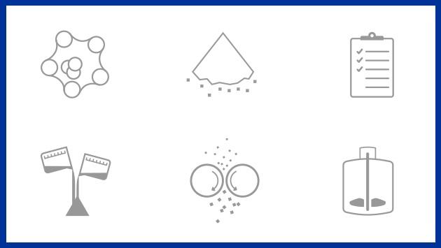 Pharmaceutical equipment icons