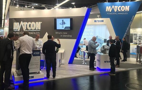 Powtech3- Powtech Event Showcasing the Launch of Matcons Latest Liquid Addition Equipment