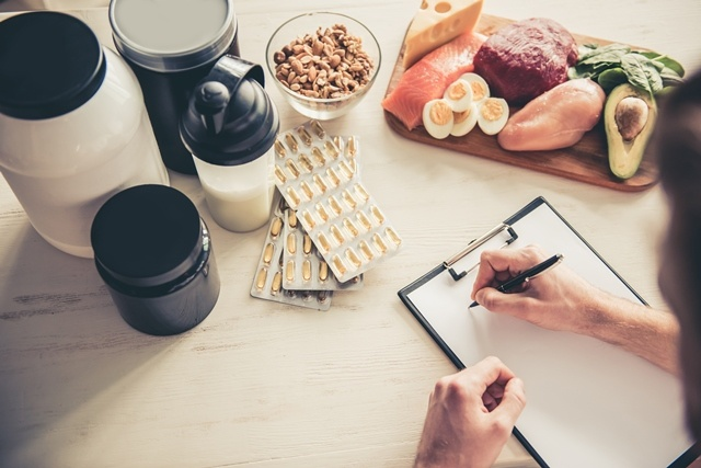 food and supplements sports nutrition