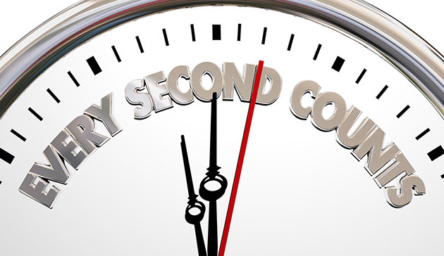 Every second counts in for a sports nutrition manufacturer