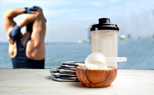 sports nutrition image of powder