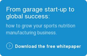 From garage start-up to global success:  how to grow your sports nutrition  manufacturing business. Download the free whitepaper