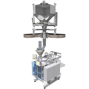 Matcon Packing Line re-fill module